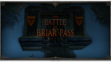 Briar Pass Title Card Borders Eagle Caw Final