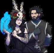 Aleyina and Berenal Saltmatey