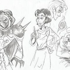 More Ivan sketches!