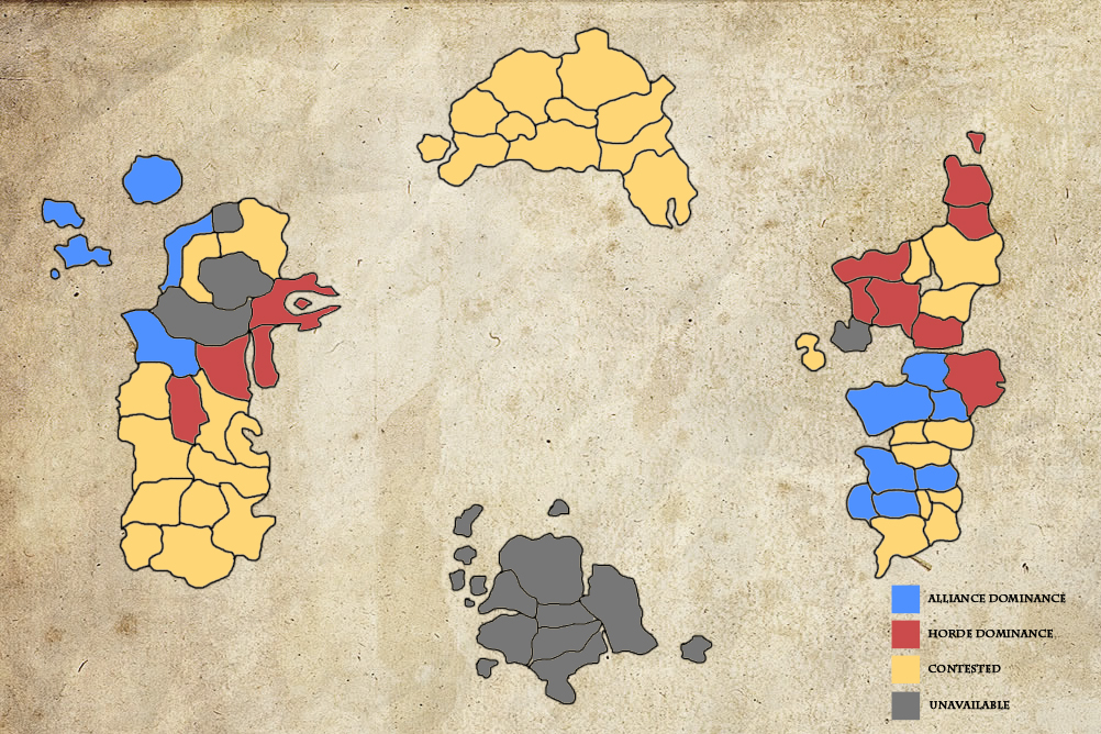Conquest Map of Azeroth | Moon Guard Wiki | FANDOM powered by Wikia