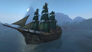 Kul Tiran Ship