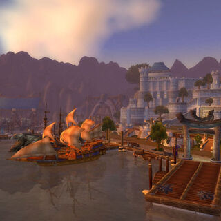 Stormwind Harbor.