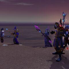 Conquest of Zandalar, Mage Landing Party.