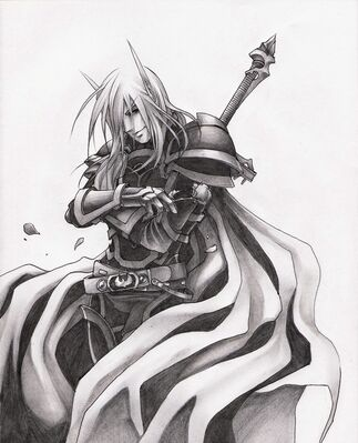 Sarvthus, Royal Knight of Quel'thalas