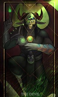 Zevrad - The Devil Tarot
