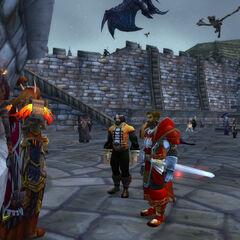 Kormed Wolfheart surrendering the Duchy of Wolfrun to Arthalden Lightshard