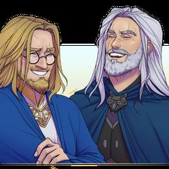 [By Saltmatey] Arthur & Garion