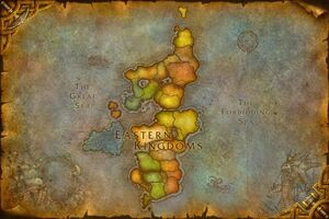 Worldmap Eastern Kingdoms