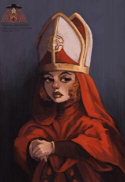Cardinal crystalrose
