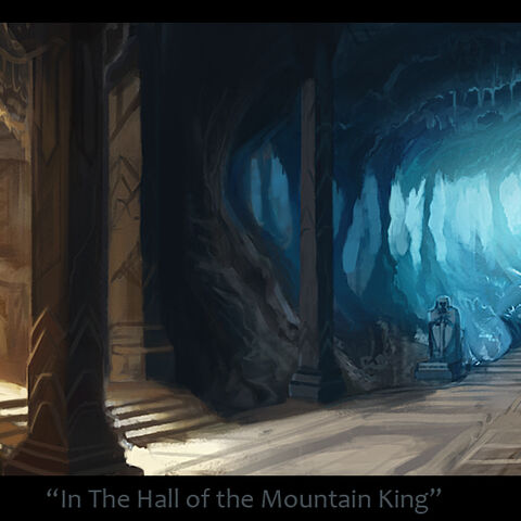 Hidden within the Mountain, in the oldest depths...