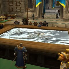 Melysa attending the war council in preparation for the siege of Orgrimmar
