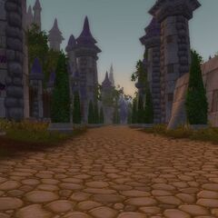 Dalaran streets prior to the Third War.