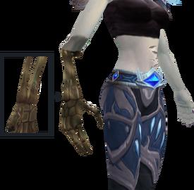 Bone arm