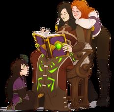 Sasha, Alissa, and Ana.