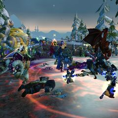 Defending Ironforge from the Horde.
