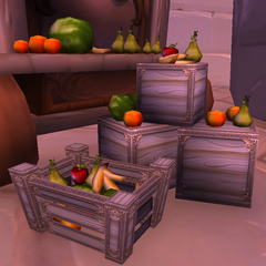 Apples amongst other fruits being sold in the streets of <a href=