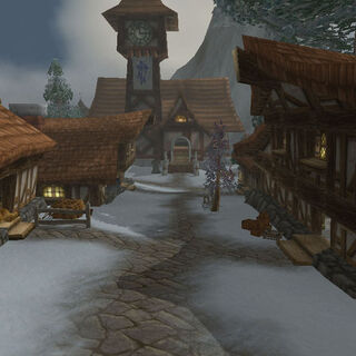 A street in Alterac City.