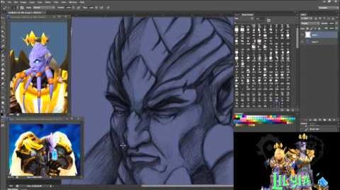 Epilvik Warcraft Draenei