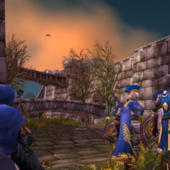 Helping restore order to Stromgarde.