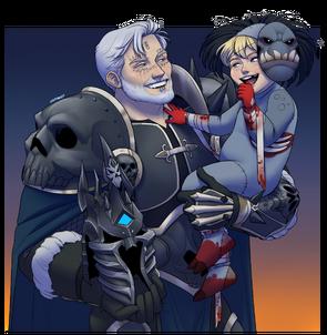 Arthur and aedan halloween 05