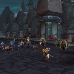 On the march in Zul'Drak.