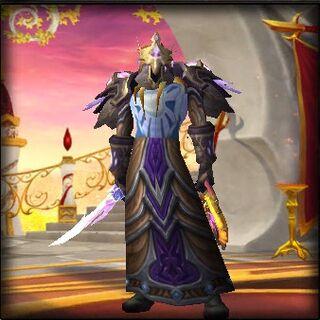 Vorien in his old armor
