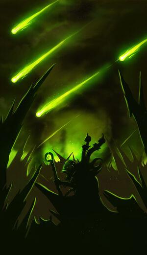 Gul'dan and the Burning Legion