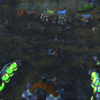 The first open battle against the Horde