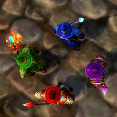 Rainbow Wizards.