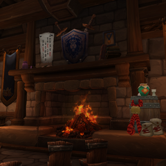 The Main Office is where Bakuzan lays down the law. She's started to spruce the place up with Pandaren accouterments.
