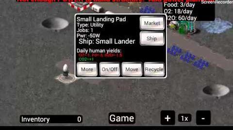 Lets play Moonbase INC 1 Gelandet auf dem Mond!