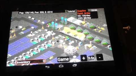 Moon Base Inc - android GamePlay