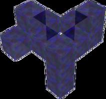 Blue Crystal Plant