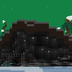 I carved out most of the inside of a hill