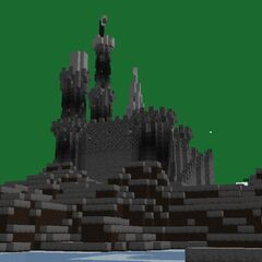 Spire and some windows added