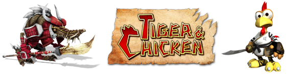 Logo Moorhuhn Tiger & Chicken
