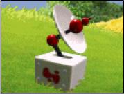 MHI Satellitenschüssel