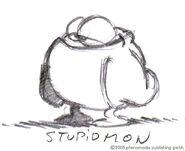 StupidmonSkizze