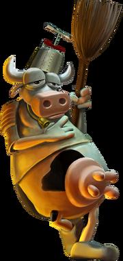 Mh combat cow