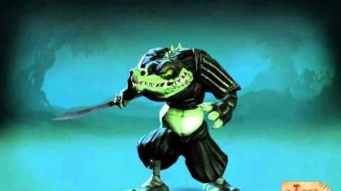 Moorhuhn - Tiger & Chicken Die Ninja-Krokodile (Konzeptzeichnungen & Animationen)
