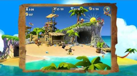 Crazy Chicken Pirates (iOS iPhone iPad) Official Trailer by Teyon