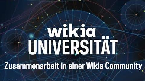 Zusammenarbeit in einer Wikia Community