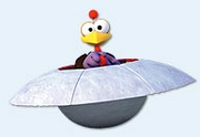 Ufo Huhn