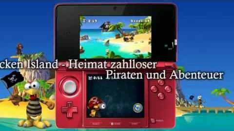 Trailer Moorhuhn Piraten 3D Crazy Chicken Pirates 3D (eShop DSiWare)