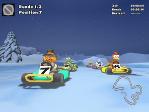 Screenshot moorhuhn kart 3 1