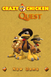Moorhuhn Quest Cover