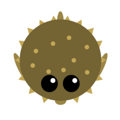 Pufferfish's ability.