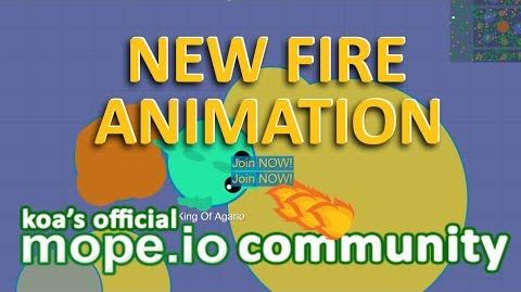 MOPE.IO NEW FIRE ANIMATION PHOENIX REVEAL EXPERIMENTAL