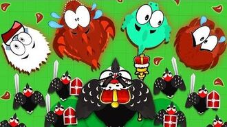 WOODPECKER ARMY DESTROYS EVERY ANIMAL ON THE MOPE.IO SERVERS! - INSANE WOODPECKER TROLLING TOP TIERS