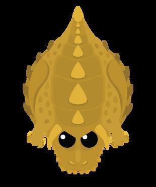 Golden Dino Monster